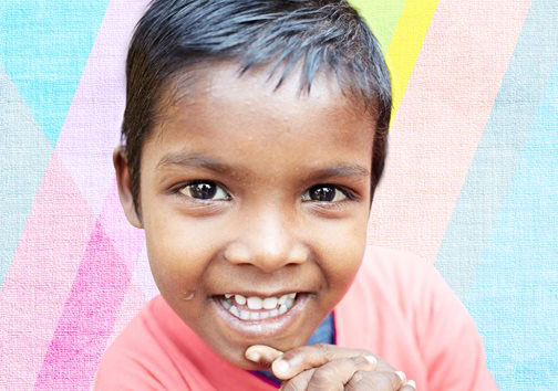 Sponsor a child with just INR 900 a month