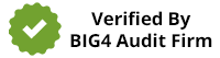 Verififed by Big4 Audit Firm